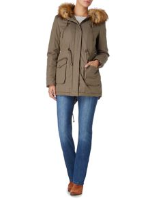 Linea Weekend Anaverna Faux Fur Lined Parka