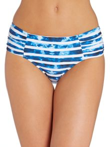 Seafolly Inked Stripe Deep Brief