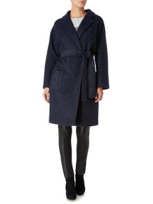 Linea Weekend Vik Belted Wool Coat