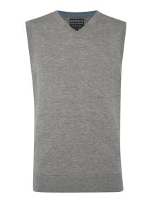 Arlington 100% Lambswool Vee Neck Tank Jumper