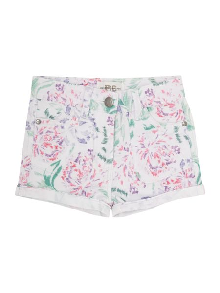 French Connection Girls Boyfriend Bonita Print Short