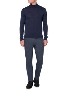 Linea Machine Washable Merino Roll Neck Jumper