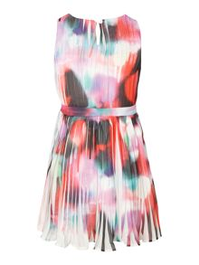 Girls miami graffiti dress