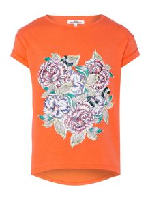 Girls Mirror Floral Tshirt