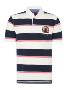 Howick Malden Stripe Short Sleeve Rugby Shirt