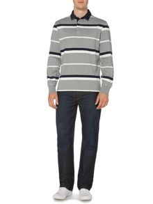 Hawley Stripe Long Sleeve Rugby