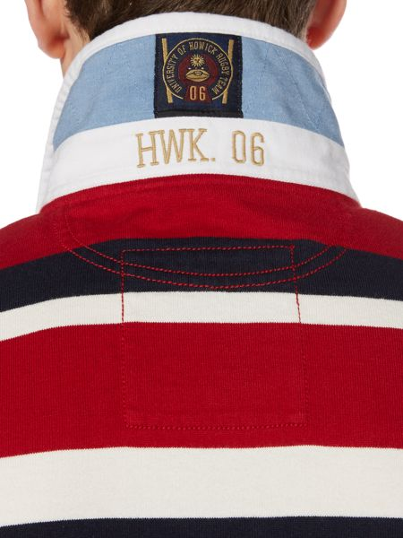 Howick Hanover Striped Long Sleeve Rugby Top