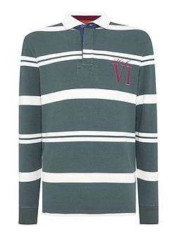 Men's Howick Tilston Stripe Long Sleeve Rugby Top