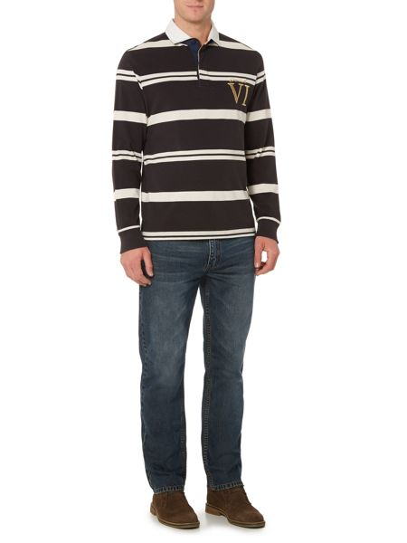 Howick Tilston Stripe Long Sleeve Rugby Top