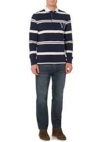 Tilston Stripe Long Sleeve Rugby Top