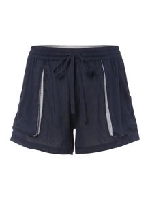 Drawstring Beach Shorts