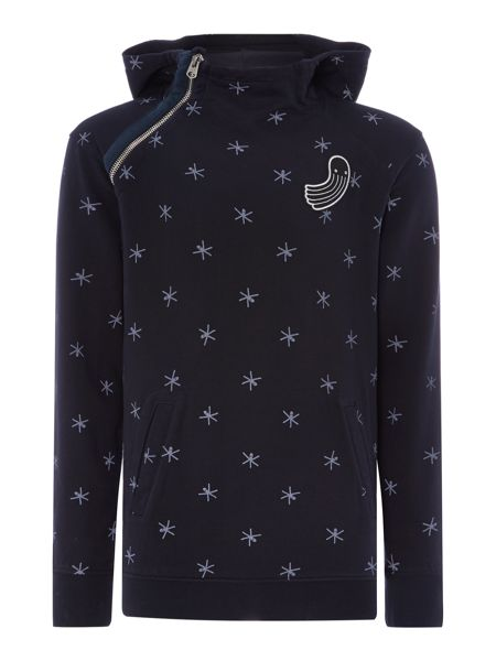 G-Star Pharrell Williams Graphic Crew Neck Pull Over Wit