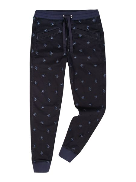 G-Star Pharrell Williams Slim Fit Casual Patterned Track