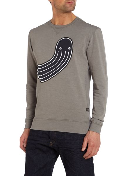 G-Star Pharrell Williams Graphic Crew Neck Jumper