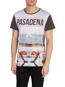 Nena and Pasadena Ocean Angel Graphic Slim Fit T-Shirt