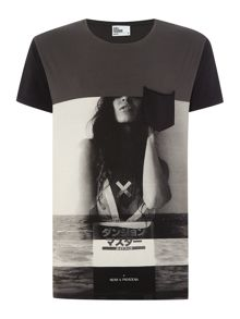 Nena and Pasadena The Body Graphic Slim Fit T-Shirt