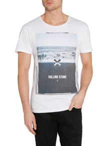 Nena and Pasadena Rolling Stone Graphic Slim Fit T-Shirt