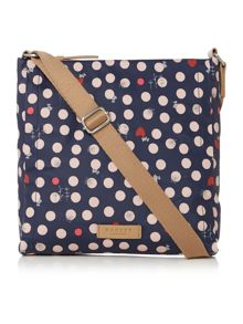 Heart spot dog crossbody bag