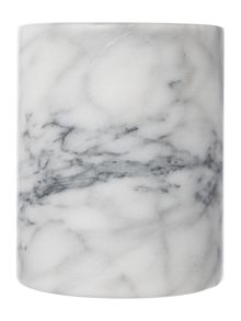 Marble utensil pot