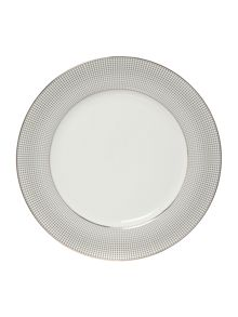 Casa Couture Microdot dinner plate