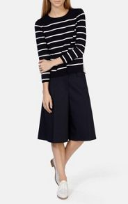 Clean stripe knits jumper