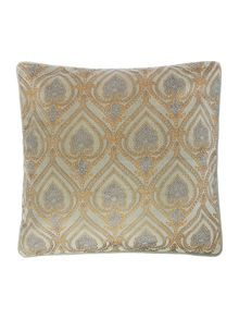 Linea Aqua velvet cushion