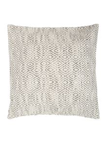 Heavy cotton diamond cushion
