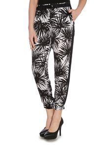 Michael Kors Bamboo print track trousers