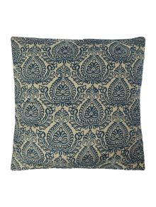Linea Damask embroidered cushion