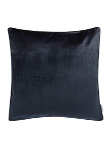 Oversized Midnight Blue Velvet Cushion
