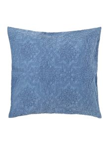 Shabby Chic Blue Matalasse cushion