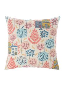 Dickins & Jones Leaf print cushion