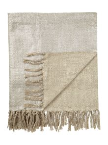 Casa Couture Metallic throw