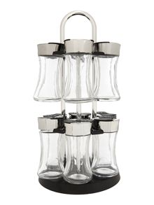 Linea 12pc unfilled spice rack