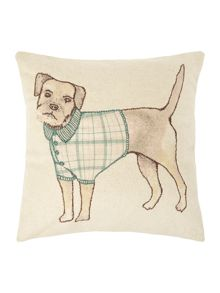 Dickins & Jones Wallace the dog cushion