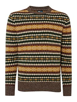Ringo Fairisle Crew Neck Jumper