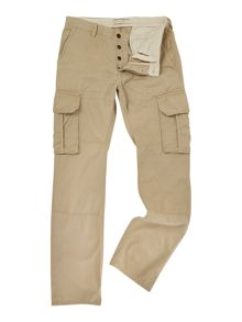 Watercolour Loose Fit Cargo Trousers
