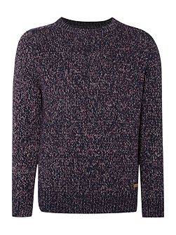 Men's Army & Navy Ruskin Crew Neck Jumper