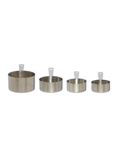 Linea Stainless steel measuring cups
