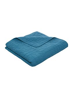 Midnight blue bedspread