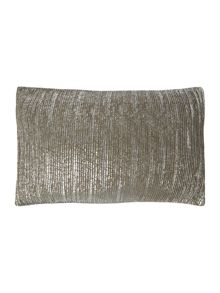 Pintex cushion, silver