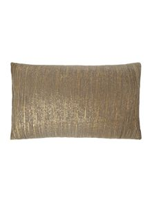 Pintex cushion, bronze