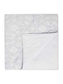 Shabby Chic Duckegg cotton bedspread