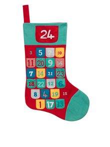 Linea Giant advent calendar stocking