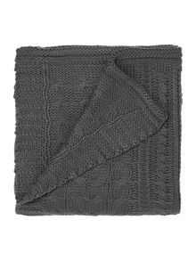 Highland blanket, grey