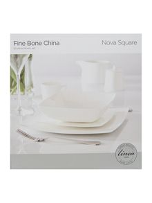 Linea Nova fine bone china 12 piece square box set