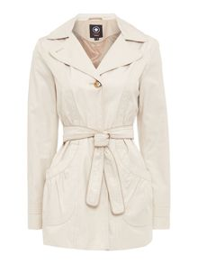 Halifax Traders Belted trench coat