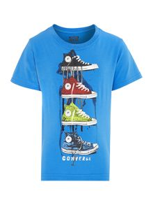 Boys 4 Shoe Graphic Tshirt