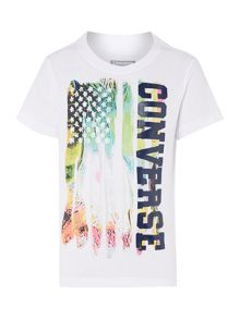Boys Flag Graphic Tshirt