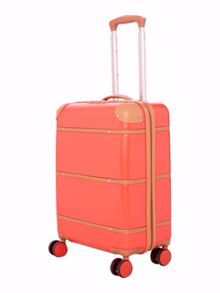 Dickins & Jones Trunk red 4 wheel cabin suitcase